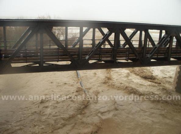 Condotta fognaria Bovalino-Bianco sotto il ponte Bonamico