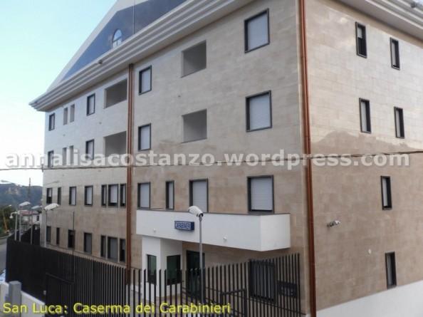 San Luca: Nuova caserma dei Carabinieri